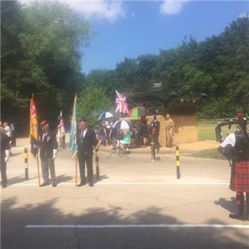 - Mayor attends Desert Rats Annual Open Day