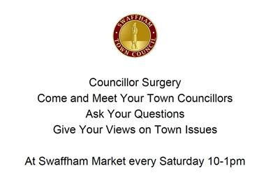 - Councillor Surgeries at the Market