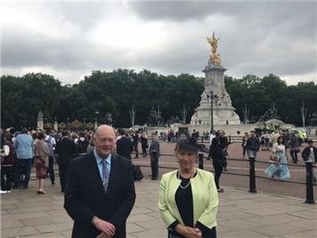 - Mayor attends Royal Garden Party